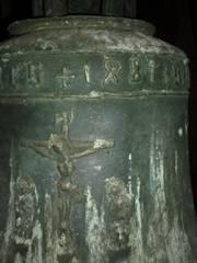 Die älteste Glocke der Stadtpfarrkirche