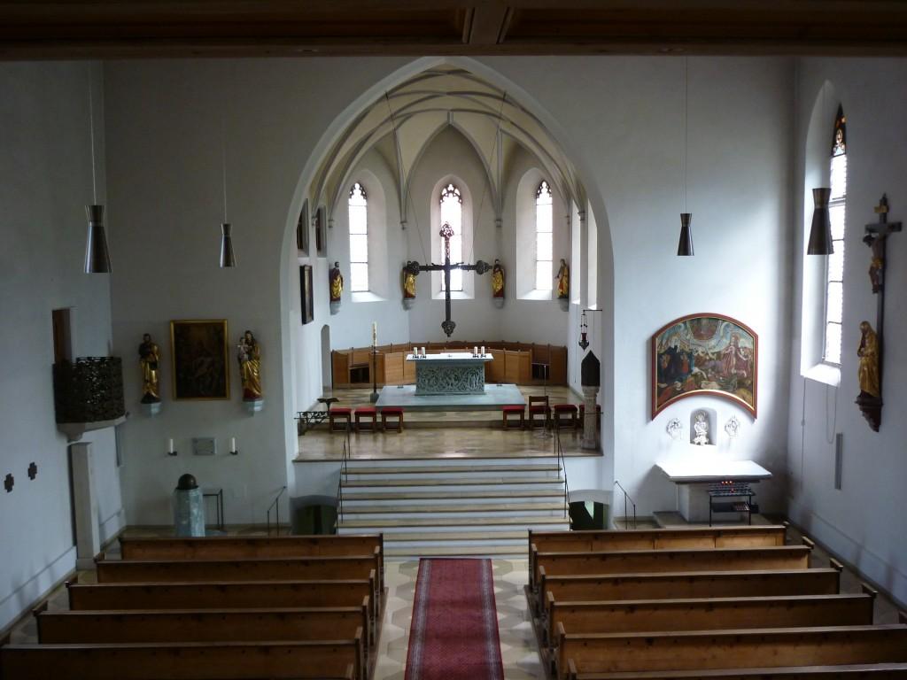 Altarraum von St. Sebastian