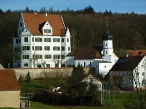 Hirschbrunn - Schloss und Kapelle