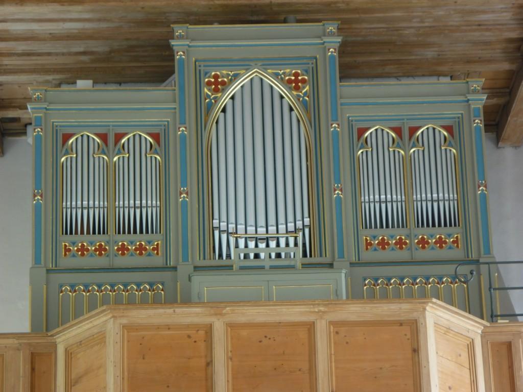 Orgel-Gehäuseprospekt