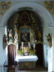 Hochaltar der Schlosskapelle Hirschbrunn