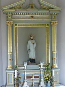 Aloisiuskapelle Ehingen Hochaltar