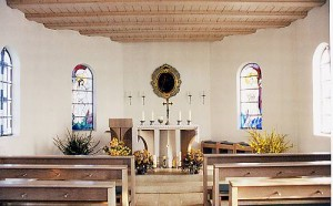 Antoniuskapelle Belzheim Altarraum
