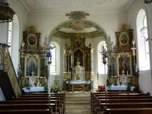 St. Michael Belzheim Altarraum