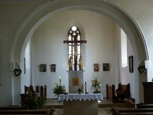 St. Ulrich und Stephan Ehingen Altarraum