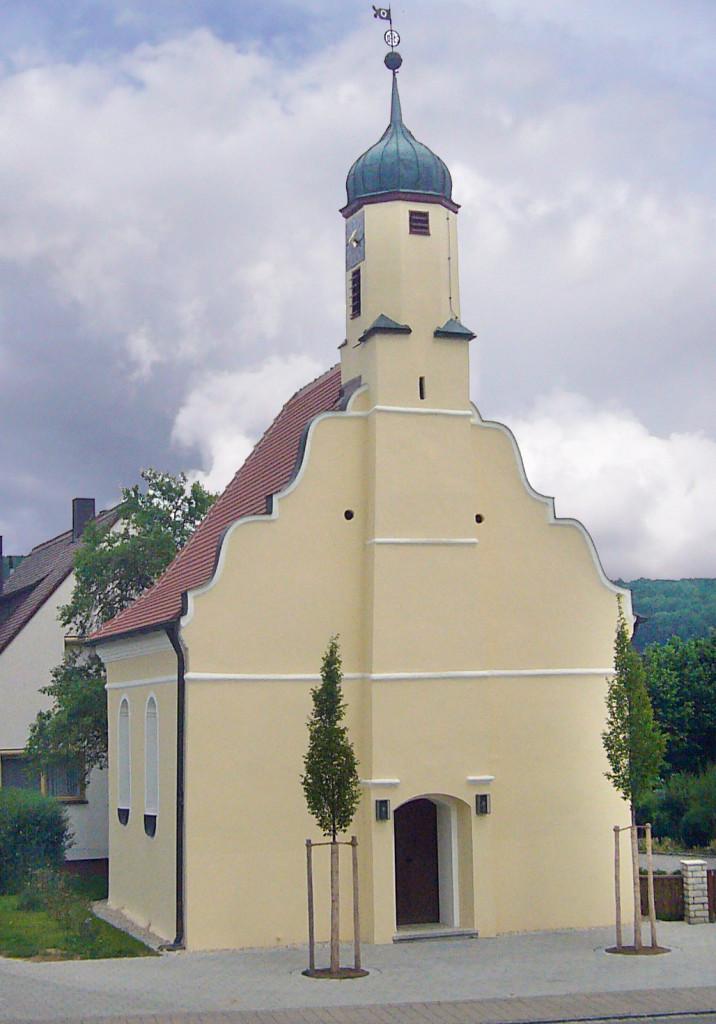 Kapelle zu den Hl. fünf Wunden Niederhofen - Foto H. Engel