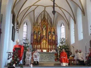 Pontifikalamt zur Pastoralvisitation 2018 in Oettingen - Foto Ulrich Lutz