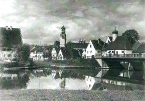 Leonhardskapelle - alte Ansicht von Süden