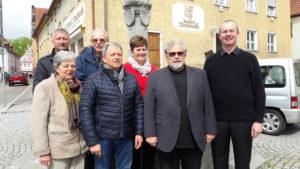 Die Vorstandschaft der Kolpingsfamilie Oettingen 2019 - Foto Ulrich Lutz