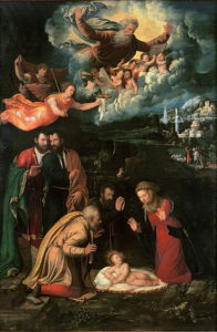 Natività von Battista Dossi (1510-1548)