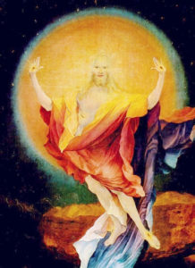 Auferstehung Christi von Matthias Grünewald (1480-1530)