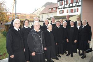 Verabschiedung der Dillinger Franziskanerinnen am 09.12.2018