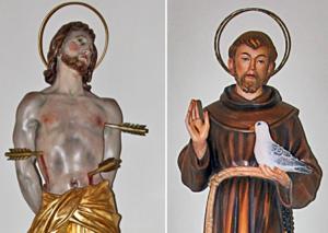 St. Franziskus und St. Sebastian