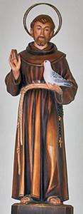 St. Franziskus im Oettinger Altarraum
